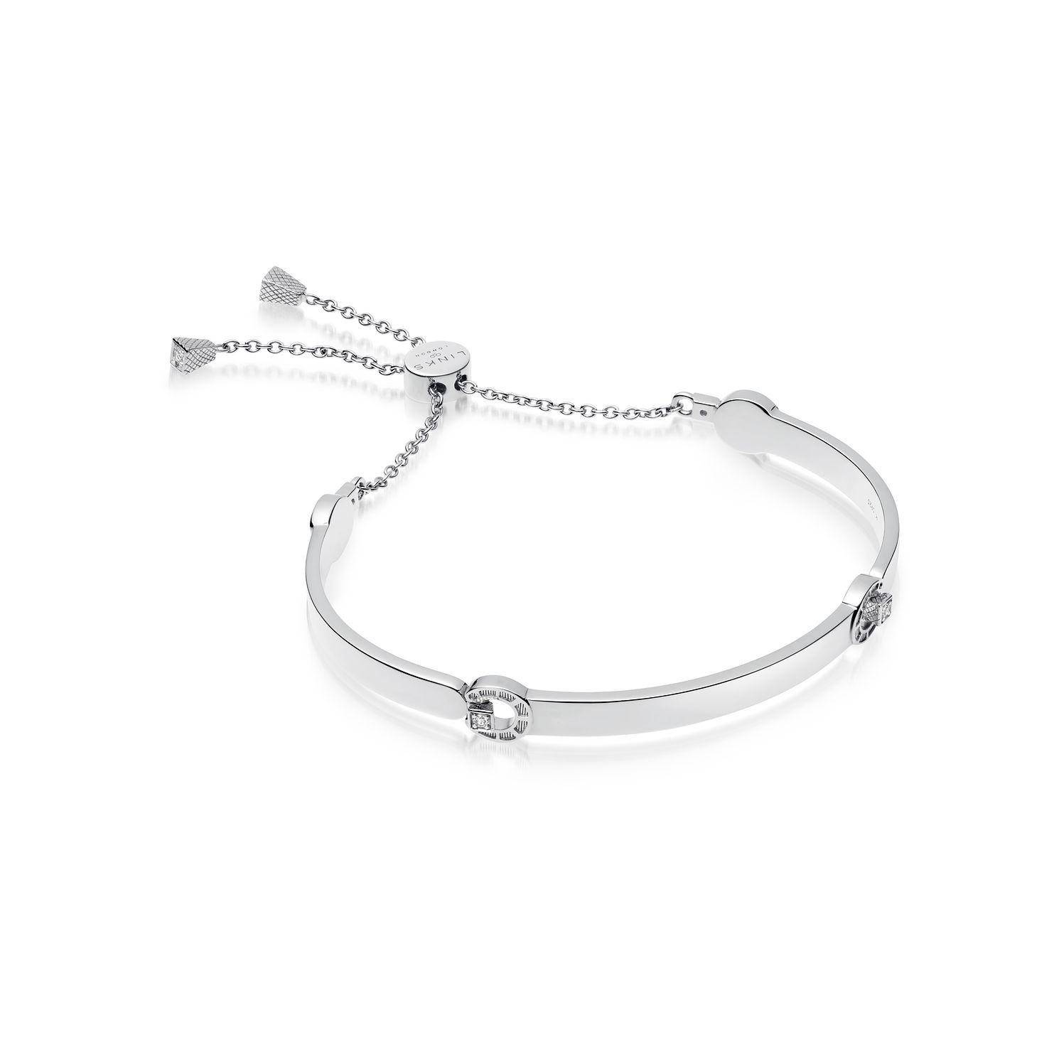 Links Of London Ascot Silver Horseshoe Adjustable Bracelet - Product number 2583208