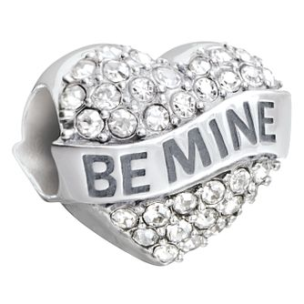 Chamilia Be Mine Heart Charm With Swarovski Crystal - Product number 2588102