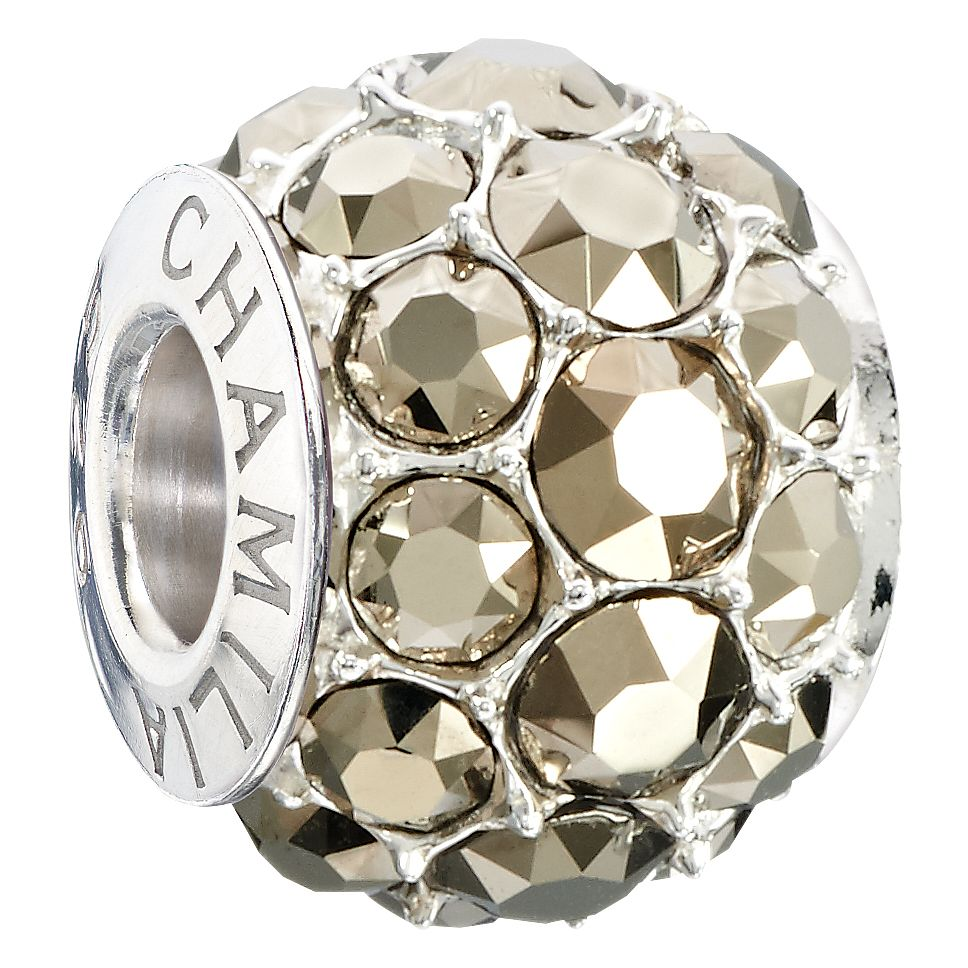 Chamilia Splendor Bead With Metallic Light Gold Swarovski - Product number 2590433