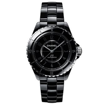 Chanel J12 Phantom Black Ceramic Bracelet Watch - Product number 2602377