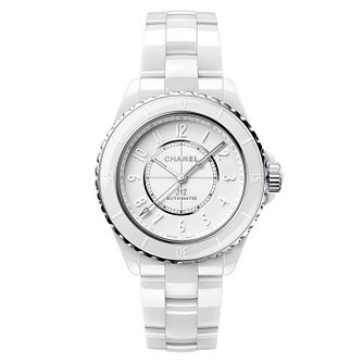 Chanel J12 Phantom White Ceramic Bracelet Watch - Product number 2602385