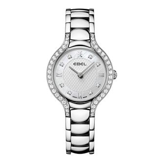 Ebel Beluga Diamond Ladies' Stainless Steel Bracelet Watch - Product number 2604744