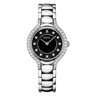 Ebel Beluga Diamond Ladies' Stainless Steel Bracelet Watch - Product number 2604760