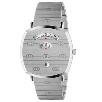 Gucci Grip Unisex Stainless Steel Bracelet Watch - Product number 2604906