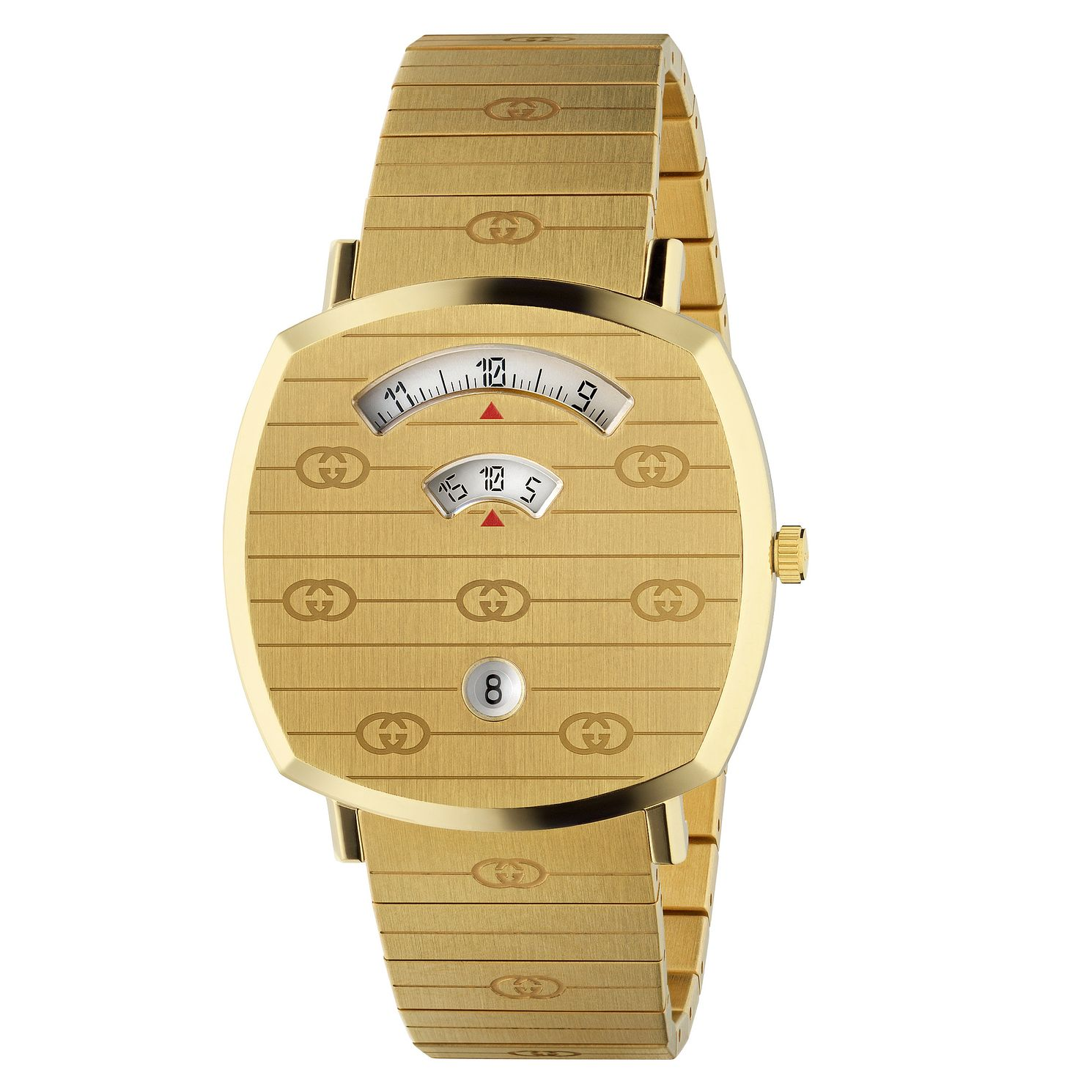 Gucci Grip Unisex Yellow Gold Tone Bracelet Watch - Product number 2604914