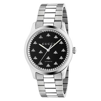 Gucci G-Timeless Bee Stainless Steel Bracelet Watch - Product number 2604957