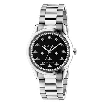 Gucci G-Timeless Bee Stainless Steel Bracelet Watch - Product number 2605058