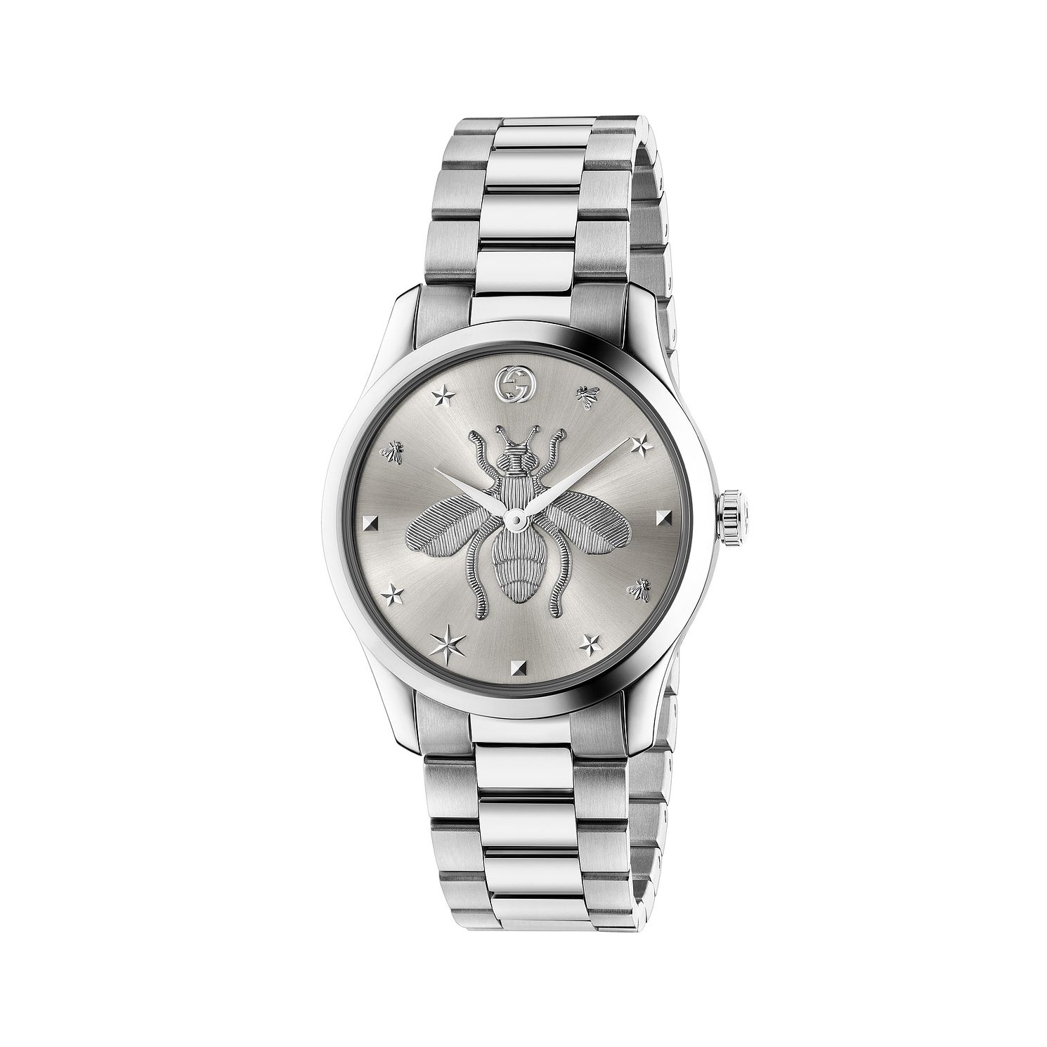 Gucci G-Timeless Bee Stainless Steel Bracelet Watch - Product number 2605082