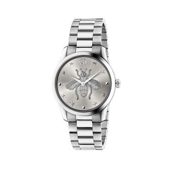 Gucci G-Timeless Bee Ladies' Stainless Steel Bracelet Watch - Product number 2605082