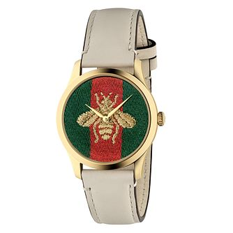 Gucci G-Timeless Bee Ladies' Gold Plated Bracelet Watch - Product number 2605171