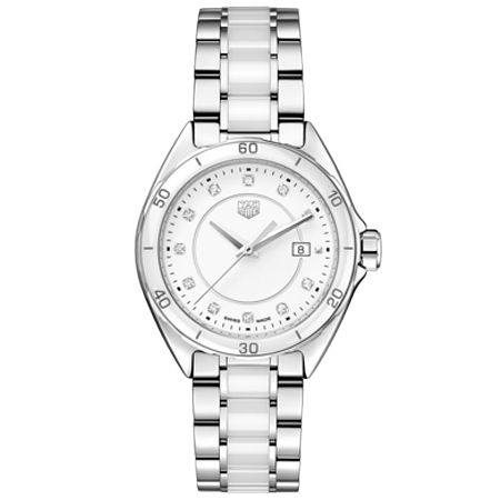 TAG Heuer Formula 1 Diamond Ladies' Two Tone Bracelet Watch - Product number 2608138