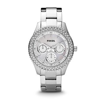 Fossil Stella Ladies' Stainless Steel Bracelet Watch - Product number 2610965
