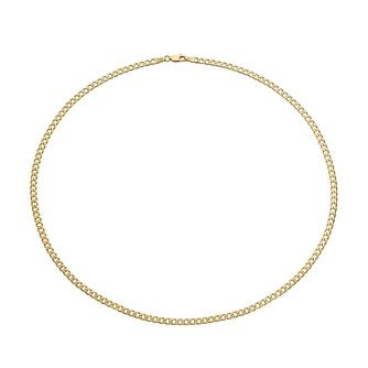 9ct Yellow Gold 20 Inch Curb Chain - Product number 2614316