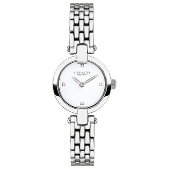 Coach Chrystie Stainless Steel Bracelet Watch - Product number 2621886