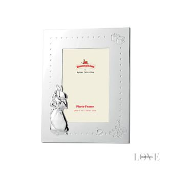 Royal Doulton Silver Plated Bunnykins Photo Frame 6x4 - Product number 2622416