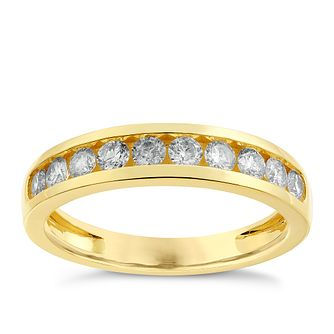 9ct Gold 0.50ct Diamond Ring - Product number 2626926