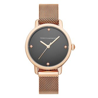 Rebecca Minkoff Bffl Ladies' Rose Gold Tone Bracelet Watch - Product number 2632543