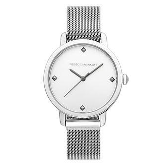 Rebecca Minkoff Bffl Ladies' Stainless Steel Bracelet Watch - Product number 2632551