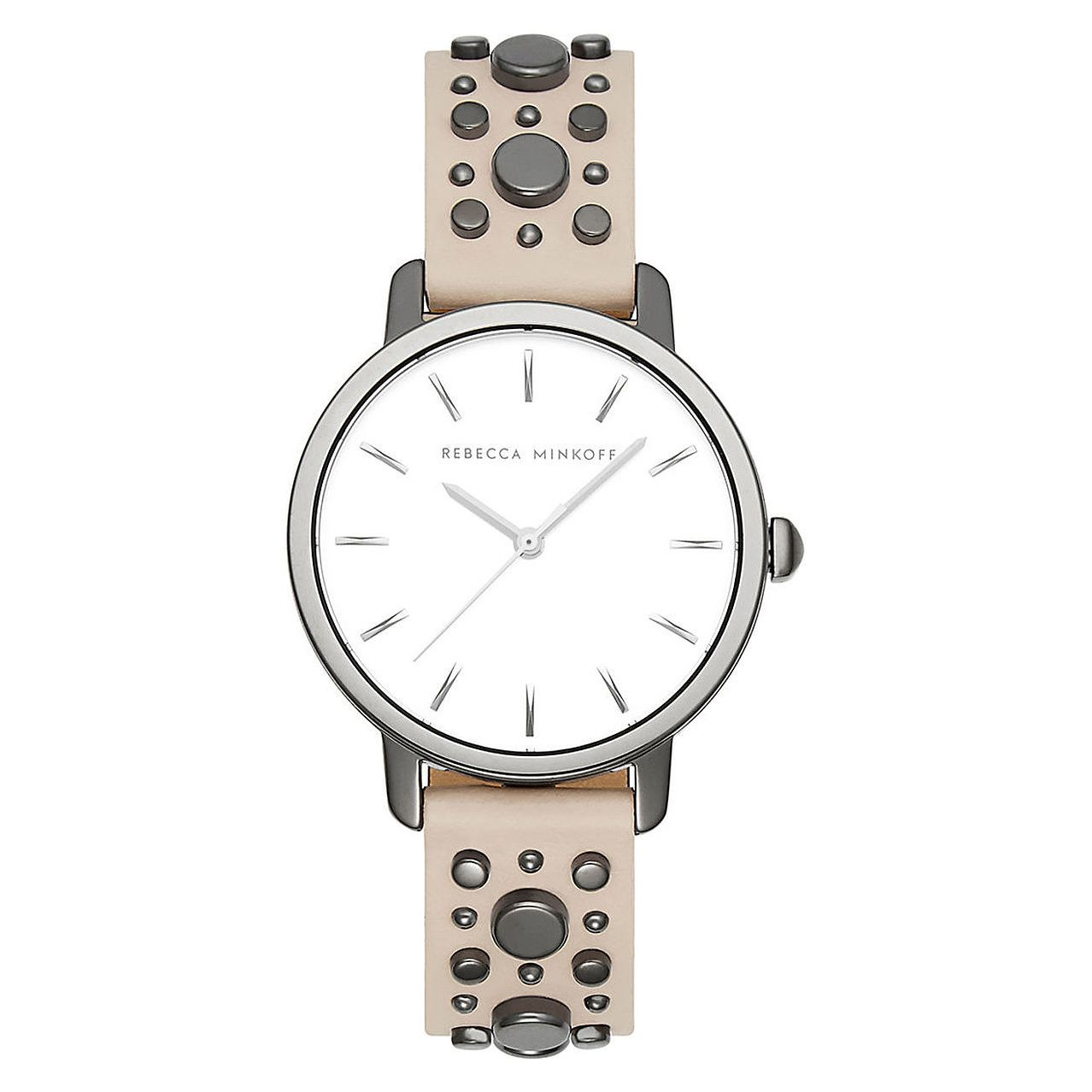 Rebecca Minkoff Ladies' Cream Strap Watch - Product number 2632594