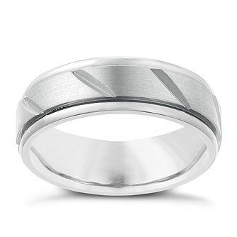 e0bcd317a68 Titanium 7mm Matt Finish Ring - Product number 2634252