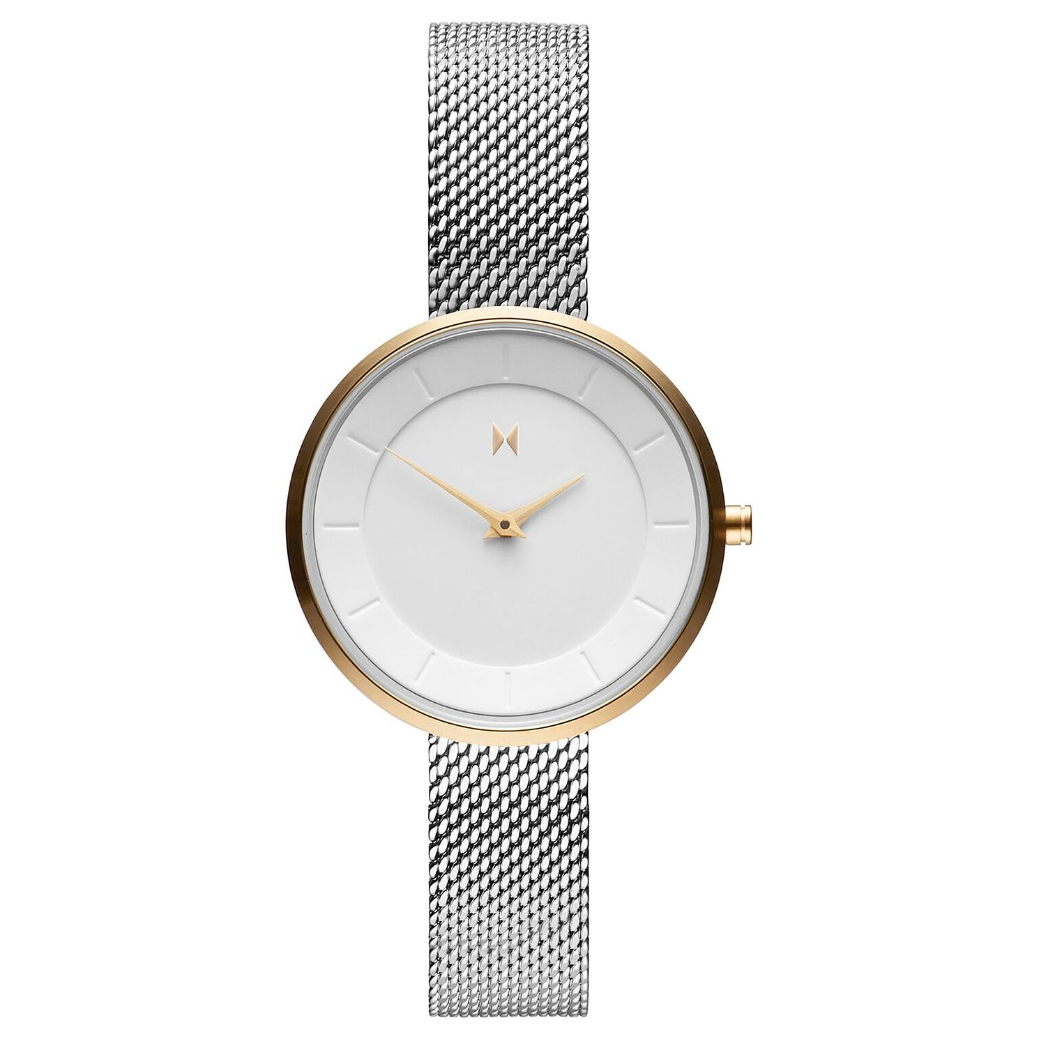 MVMT Mod Ladies' Stainless Steel Mesh Bracelet Watch - Product number 2639017