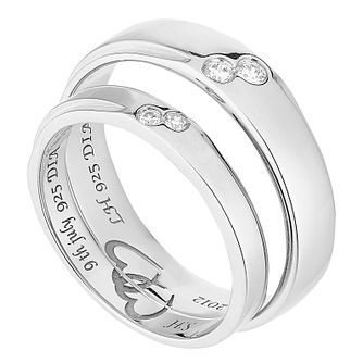 white gold wedding rings h samuel - White Gold Wedding Ring