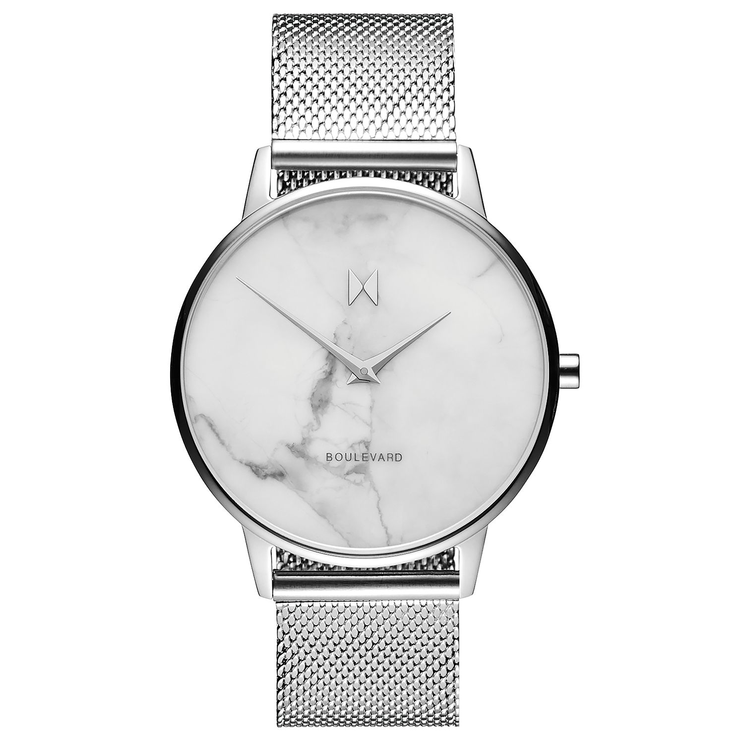 MVMT Boulevard Ladies' Stainless Steel Mesh Bracelet Watch - Product number 2647133