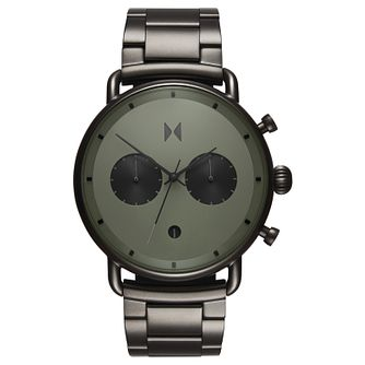 MVMT Blacktop Men's Gunmetal Ip Bracelet Watch - Product number 2647206