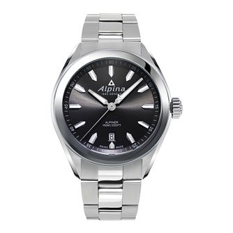 Alpina Alpiner Men's Stainless Steel Bracelet Watch - Product number 2647885