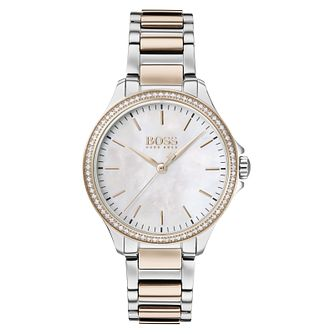 BOSS Diamonds Ladies' Two Tone Bracelet Watch - Product number 2776502