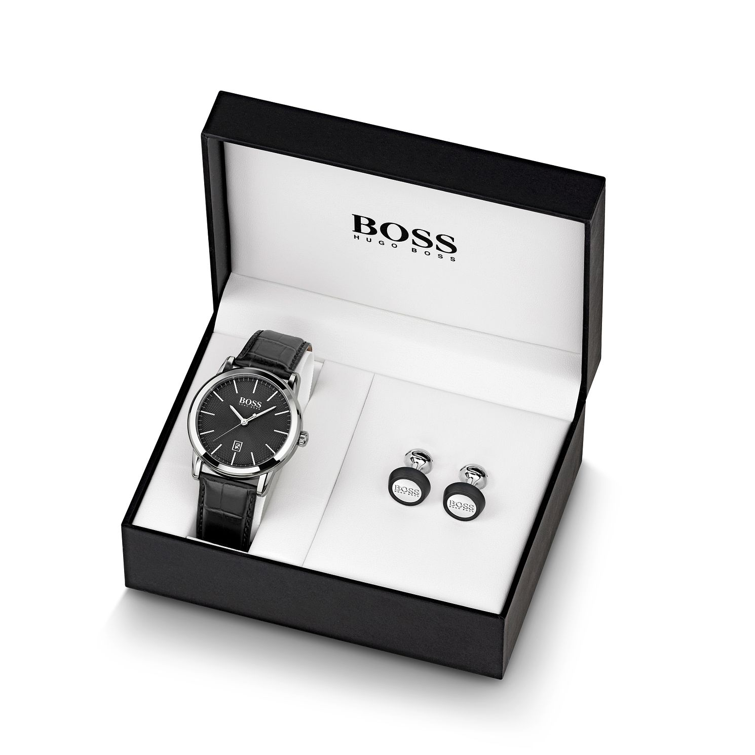 BOSS Classic Men's Watch & Cufflinks Gift Set - Product number 2776510