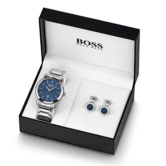 BOSS Classic Men's Watch & Cufflinks Gift Set - Product number 2776537