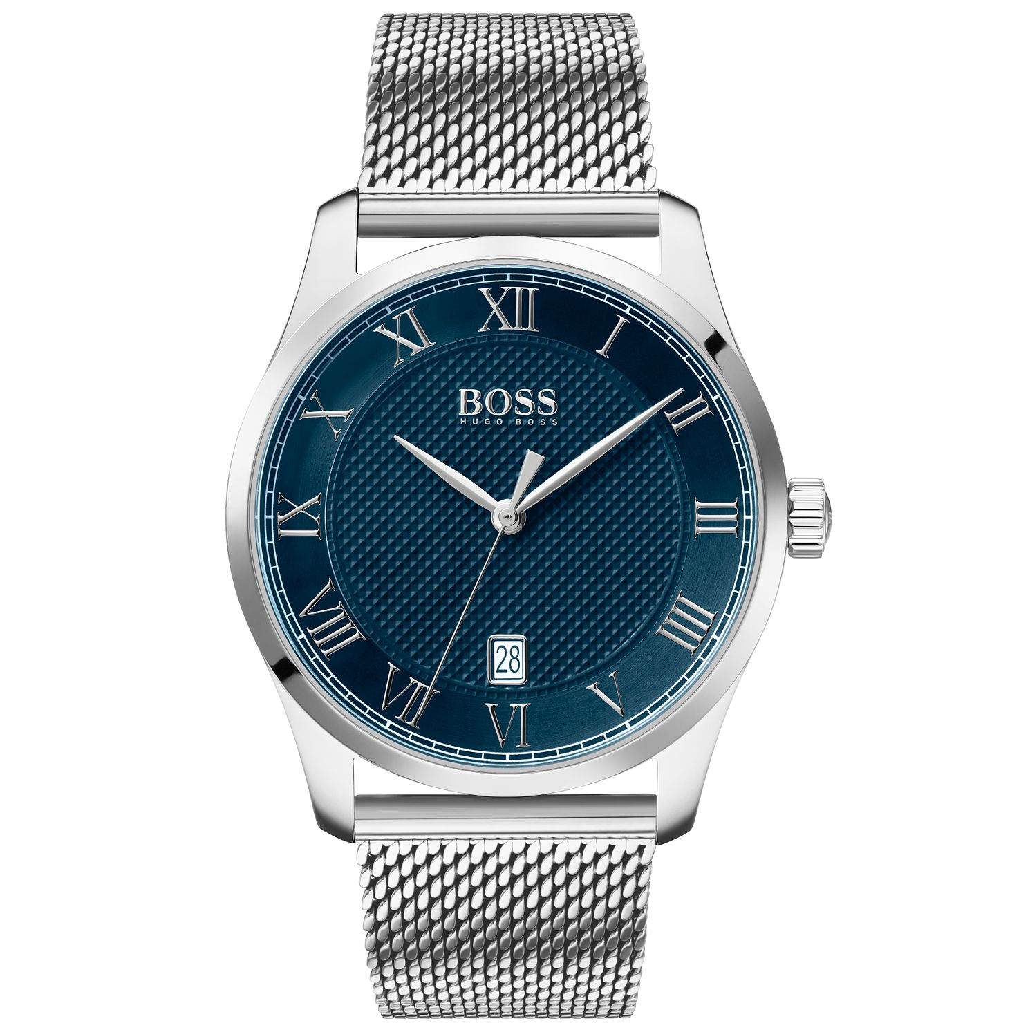 BOSS Master Men's Stainless Steel Mesh Bracelet Watch - Product number 2776766