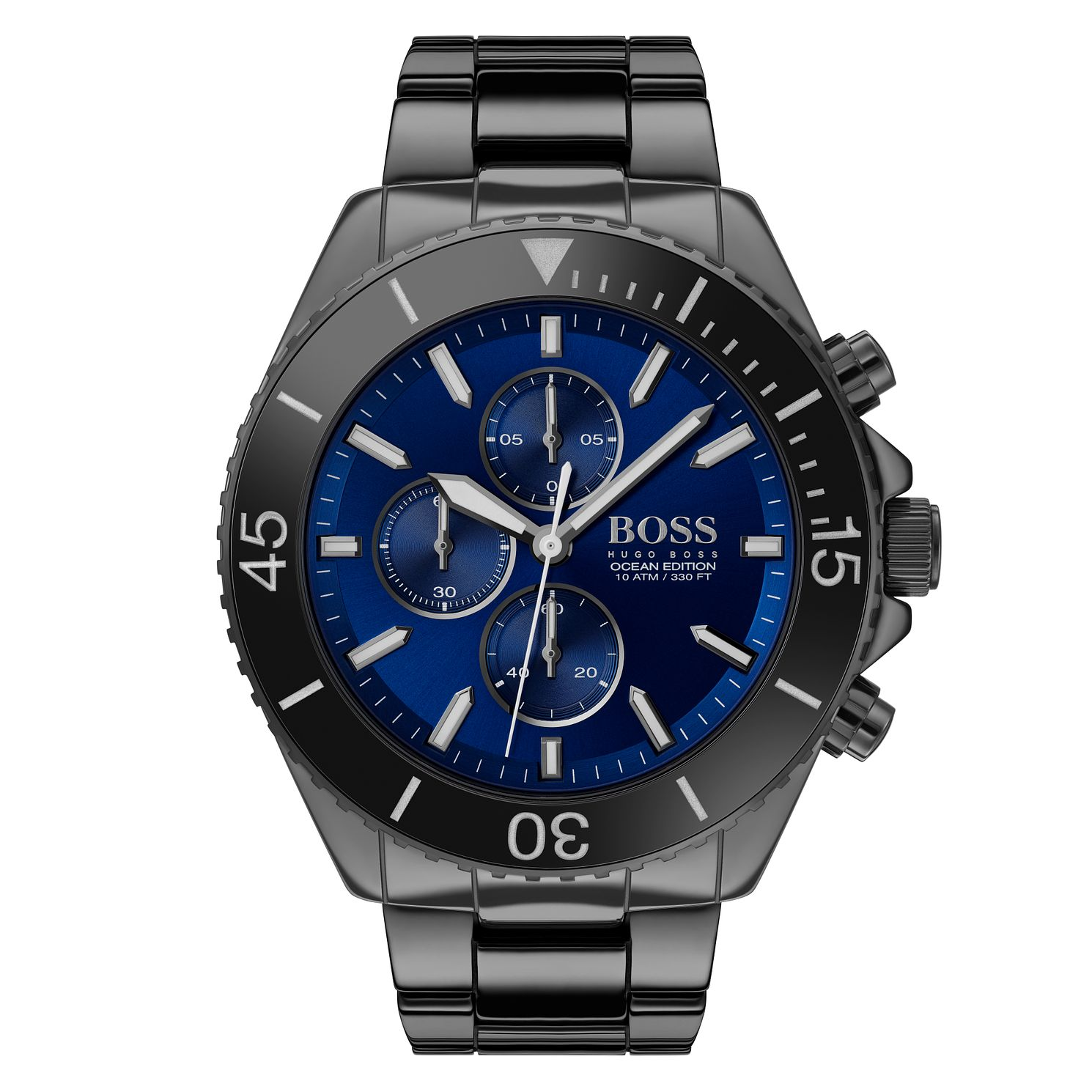 BOSS Ocean Edition Men's Black Ceramic Bracelet Watch - Product number 2776863