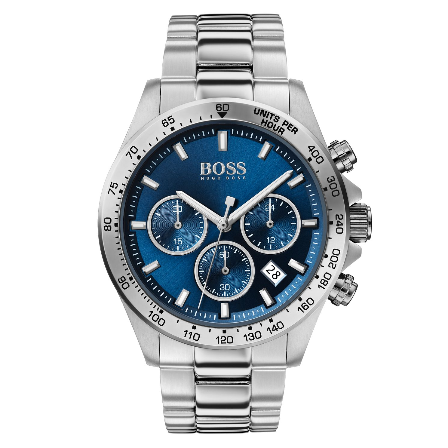 BOSS Hero Men's Stainless Steel Bracelet Watch - Product number 2776901