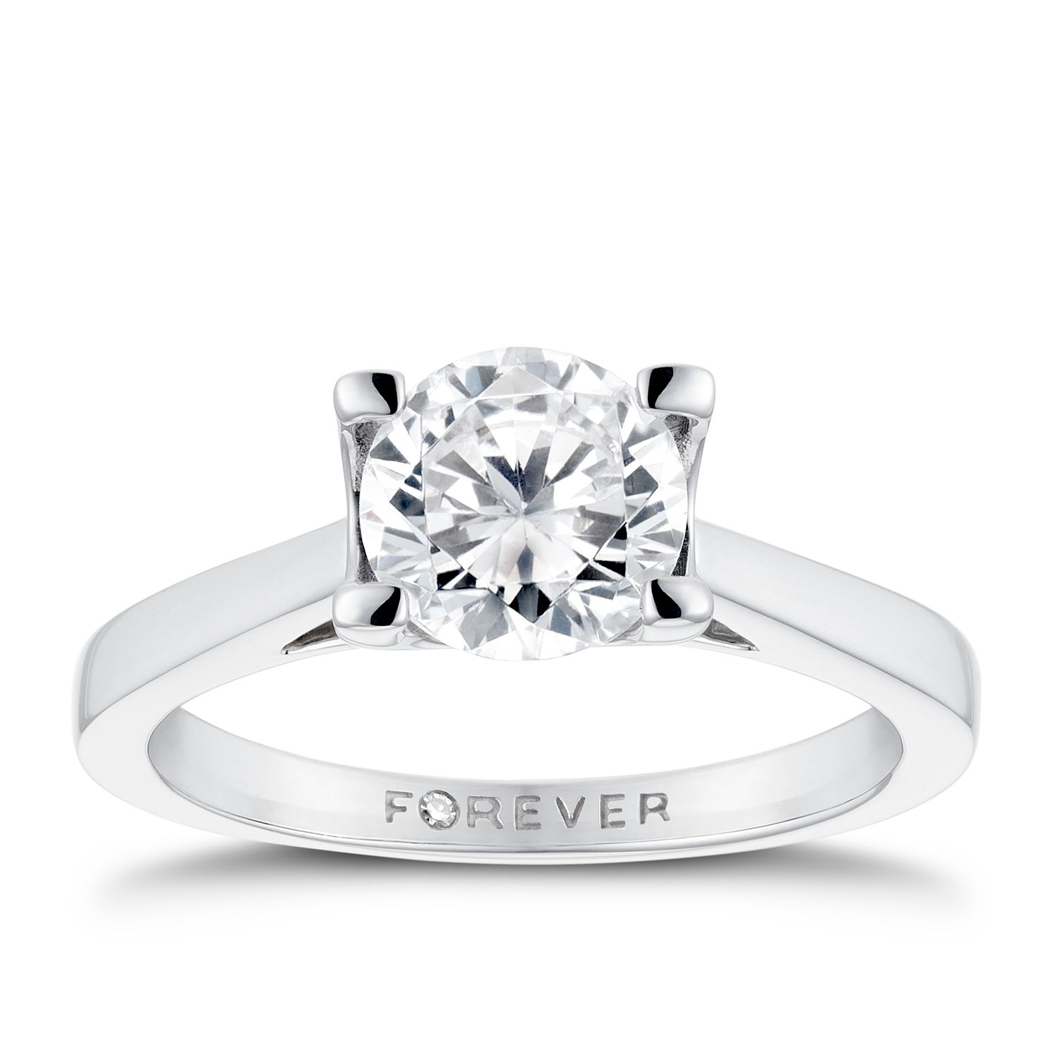 The Forever Diamond 18ct White Gold 1.25ct Ring - Product number 2776928