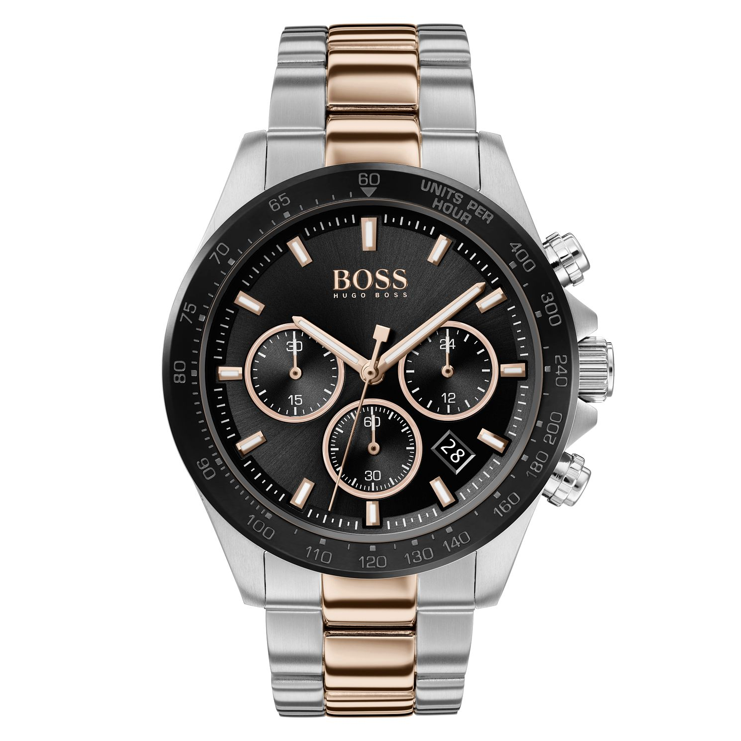 BOSS Hero Men's Two Tone Bracelet Watch - Product number 2777401