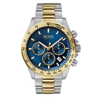 BOSS Hero Men's Two Tone Bracelet Watch - Product number 2777460