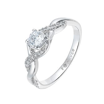 18ct White Gold 2/5 Carat Forever Diamond Ring - Product number 2777495