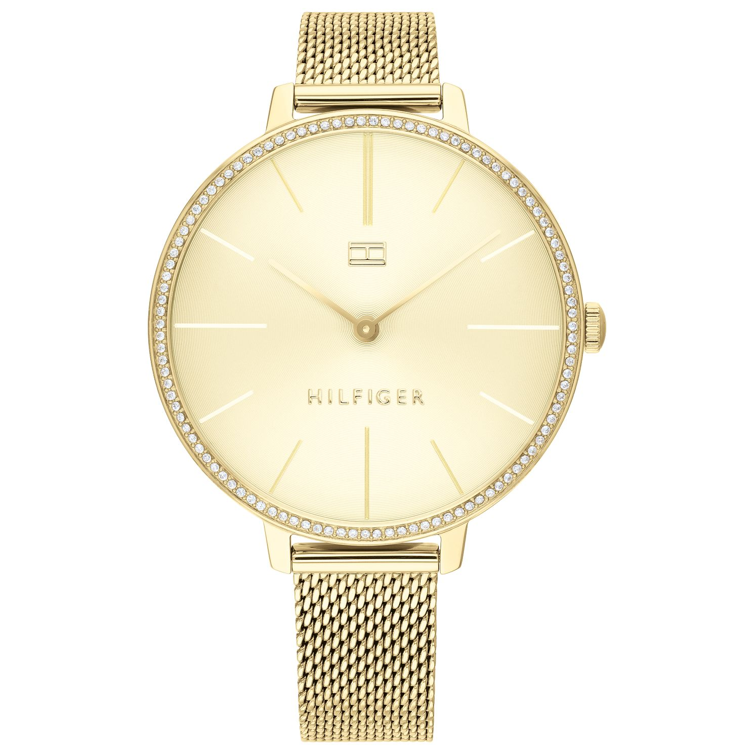 Tommy Hilfiger Kelly Ladies' Gold Tone Mesh Bracelet Watch - Product number 2778068