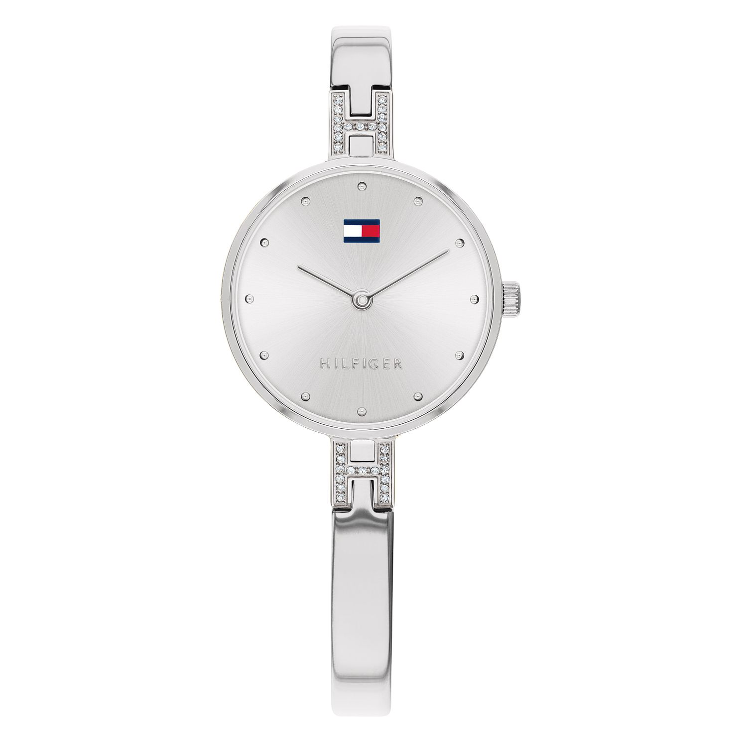 Tommy Hilfiger Kit Ladies' Stainless Steel Bangle Watch - Product number 2778173
