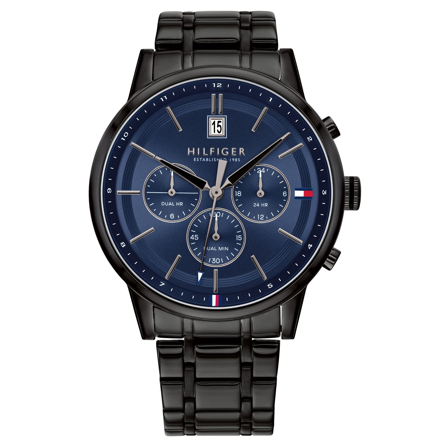 Tommy Hilfiger Kyle Men's Black Ip Bracelet Watch - Product number 2779048