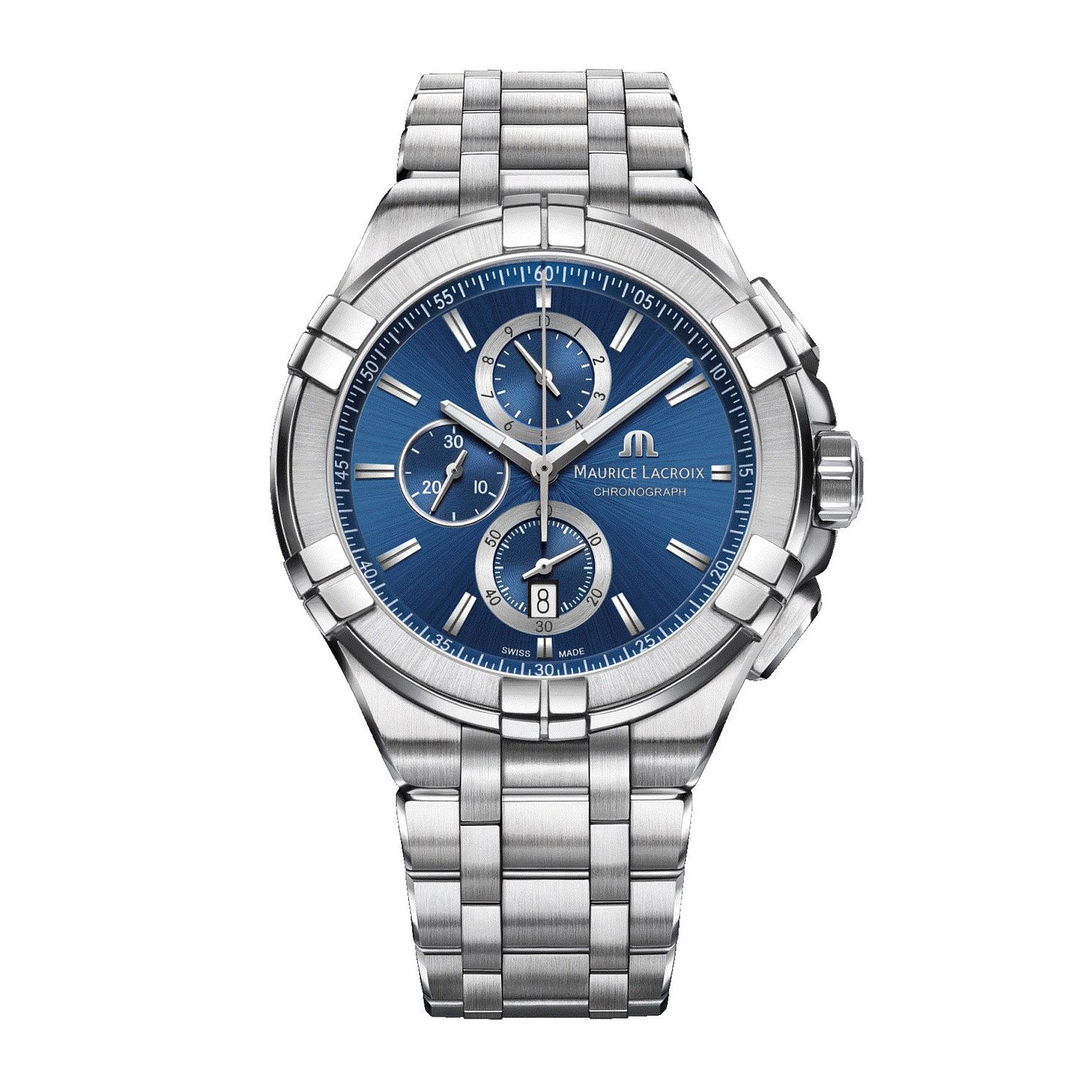 Maurice Lacroix Aikon Men's Stainless Steel Bracelet Watch - Product number 2791935