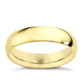 22ct Yellow Gold 5mm Super Heavy Court Ring - Product number 2797313
