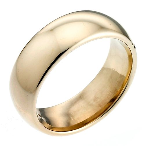 22ct Yellow Gold 7mm Super Heavy Court Ring - Product number 2798557