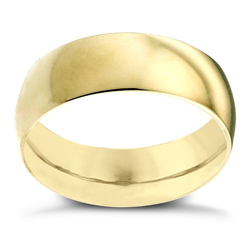 22ct Yellow Gold 7mm Extra Heavy Court Ring - Product number 2801795
