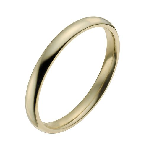 22ct Yellow Gold 2mm Super Heavy Court Ring - Product number 2802465