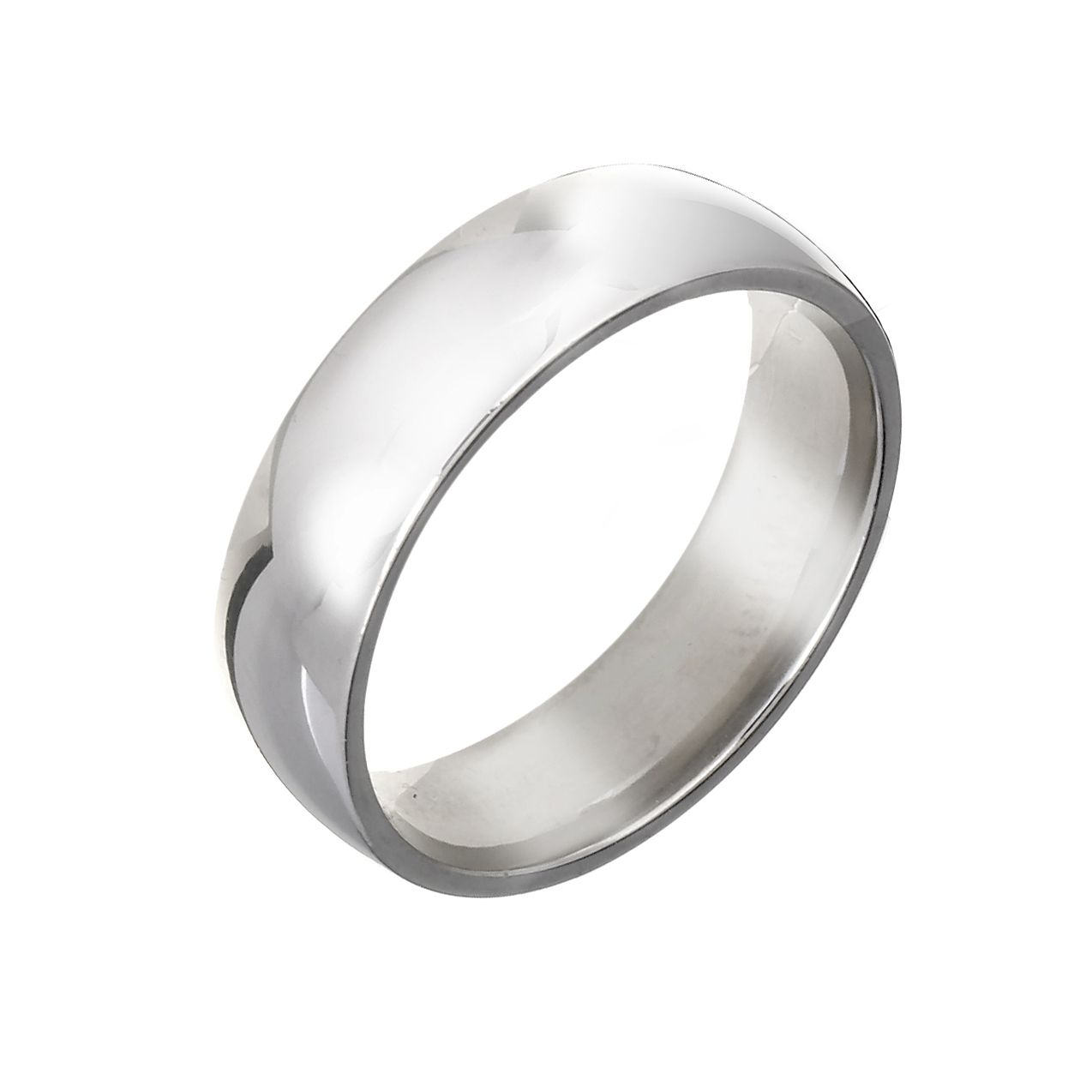Platinum 6mm Super Heavy Court Ring - Product number 2802716