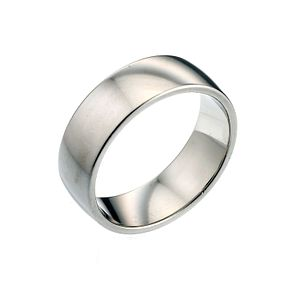 Platinum 7mm Super Heavy Court Ring - Product number 2803054