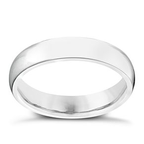 Palladium 950 4mm Extra Heavy Court Ring - Product number 2803674